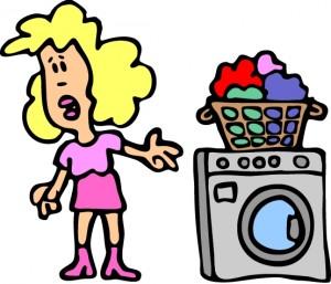 Γυναίκα-πλυντήριο