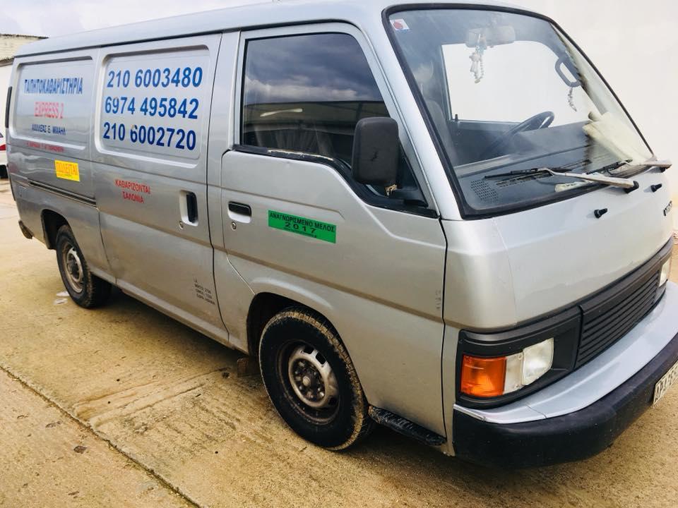 Πωλείται φορτηγάκι Nissan Urvan
